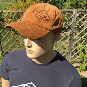 """product photo """"Basecap brown cord"""""""
